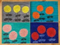 Dahlia grid Sakura koi